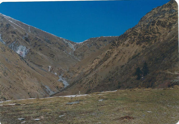 1er col (4.200m) vers le Dolpo