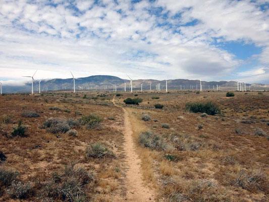 Le couloir à vent des éoliennes
