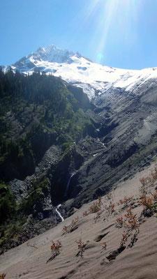 les vallées descendant du Mt Hood