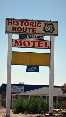 La mythique route 66 à Grant