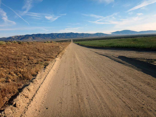traversée du  Mojave