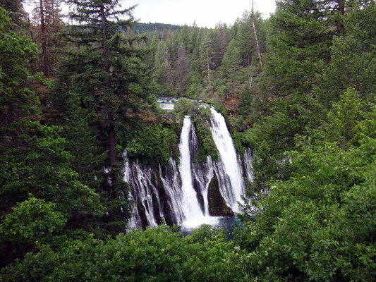 les chutes de Burney Falls
