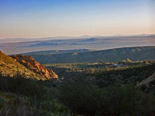Le bord du Mojave