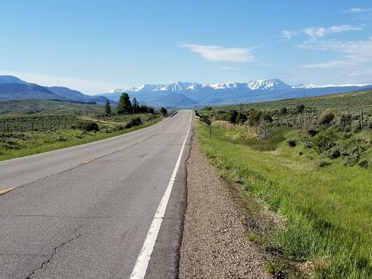 100 km de route, c'est long