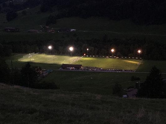FC EDO Simme 1977 | LED-Flutlichtanlage | Projekt Kunstrasen