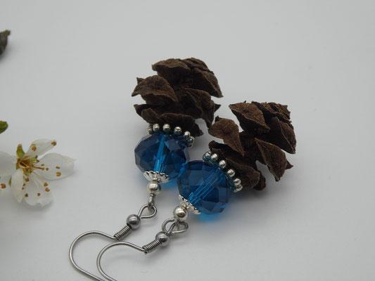 Ohrringe aus Urweltmammutbaumzapfen