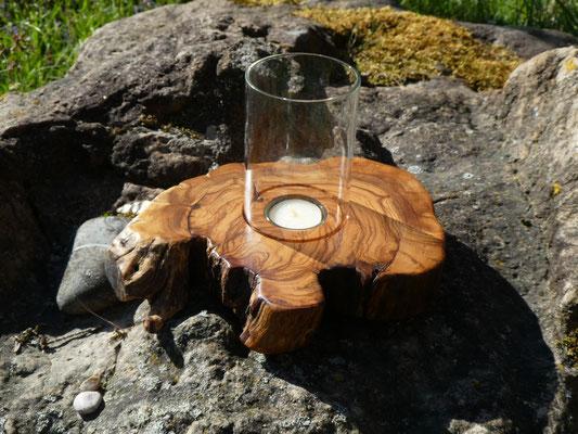 Kerzenhalter aus Holz - Werkstatt Lebendiges Holz - Ralph Reinhold