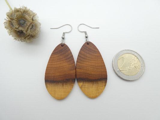 Ohrringe aus Eibe