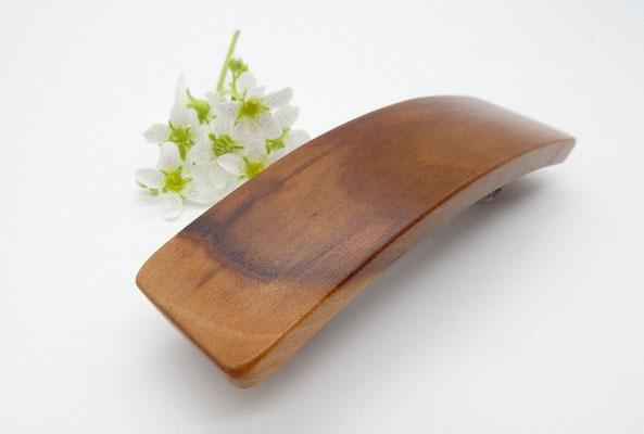 Haarspange aus Apfelholz & kleine Klammer