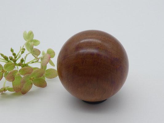 Holzkugel aus Zwetschge