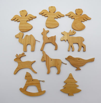Baumschmuck aus Holz