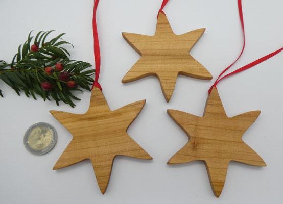 Stern aus Kirschholz