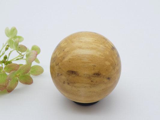 Holzkugel aus gestockter Birke