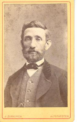 August Sonderegger (1831 - 1891), Stickfabrikant und Landwirt