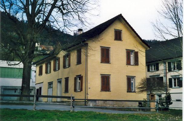 Ehemalige Stickfabrik von August Sonderegger, vor dem Abbruch