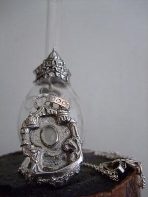 ヴェネツィア、シルバー製、天然石ムーンストーン