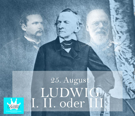 bsonders BAYERISCH Artikel - Ludwig I.II. oder III.