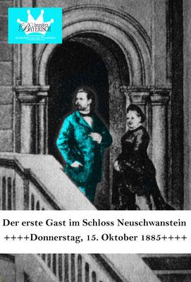bsonders BAYERISCH Artikel - Der erste Gast im Schloss Neuschwanstein