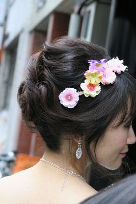 花嫁ヘアセット