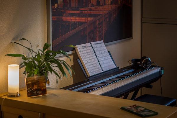 E-Piano Yamaha P-35. Foto: Leon Ehmke