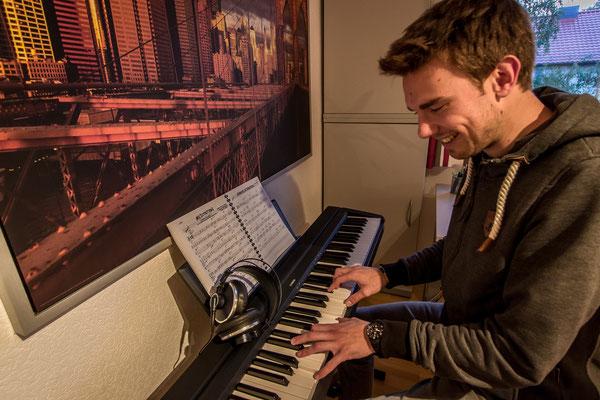 Musiktrainer Niklas Wohlt. Foto: Leon Ehmke