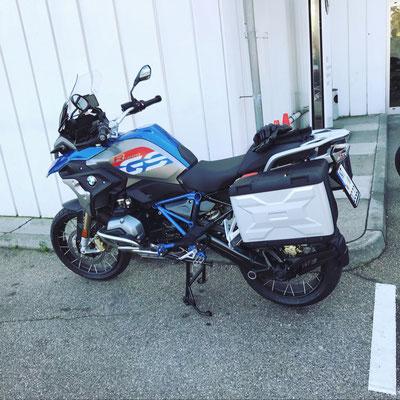DC Fahrschule: Unser Motorrad für die Fahrstunden und die Fahrprüfungen der Führerscheinklasse A. Bild 2