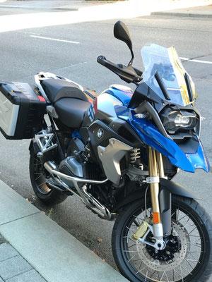 DC Fahrschule: Unser Motorrad für die Fahrstunden und die Fahrprüfungen der Führerscheinklasse A. Bild 1