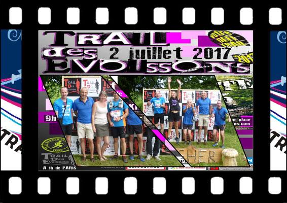 Trail des Evoissons 2017 (Guizancourt - dép80 - 18/46km - Dim02/07/2017)