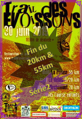 Trail des Evoissons 2019 - Fin du 20&55km série2 (Dép80 - 9/20/55km - Dim30/06/2019)