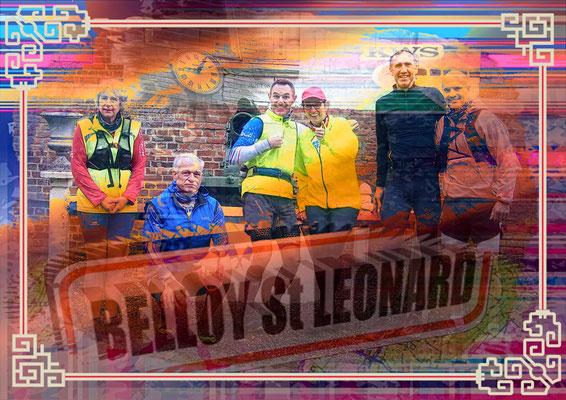 Sortie à Belloy St Léonard avec JPh (dép80 - 9/15/19km - Ven01/11/2019)