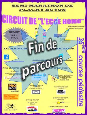 Ecce Homo - Fin de parcours (Plachy-Buyon - dép80 - 21km - Dim21/10/2018)