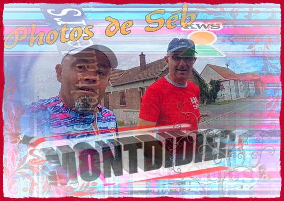 Sortie à Montdidier avec Séb (dép80 - 15km - Sam17/08/2019)