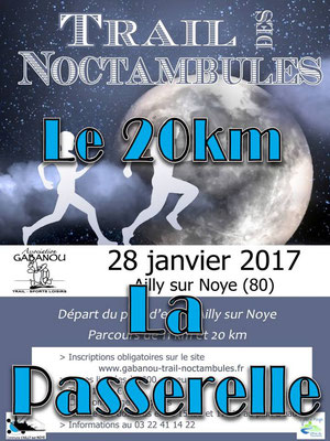 Trail des Noctambules - La passerelle (Ailly/Noye - dép80 - 11/20km - Sam28/01/2017)