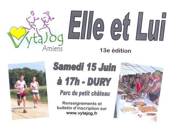 Elle et Lui 2013 (Dury - Dép80 - Elle4km/Lui5km/Duo6km - Sam15/06/2013)
