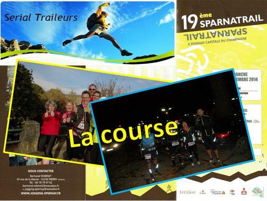 Sparnatrail 2014 (Epernay - dép51 - 15/32/57km - Dim09/11/2014)