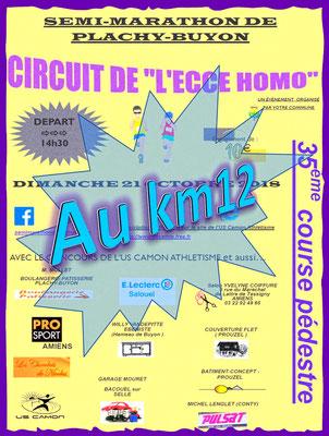 Ecce Homo - Au km12 (Plachy-Buyon - dép80 - 21km - Dim21/10/2018)