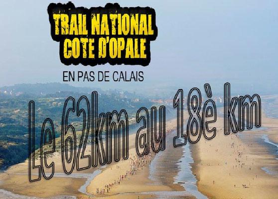 Trail de la côte d'Opale 2015 - Le 62km au 18è km (Wissant - dép62 - Dim13/09/2015)