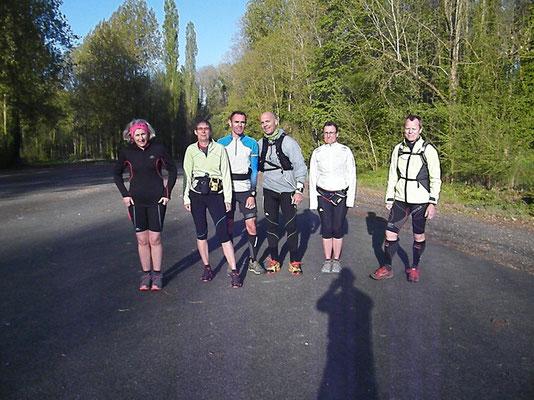 Sortie à Fréchencourt avec Martin (dép80 - 15/22/28km - Sam19/04/2014)