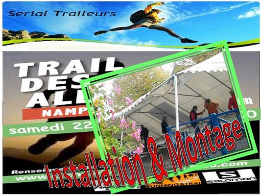 Trail des Allumés 2014 - Installation&Montage (Namps au Val - dép80 - 15km - Sam22/11/2014)