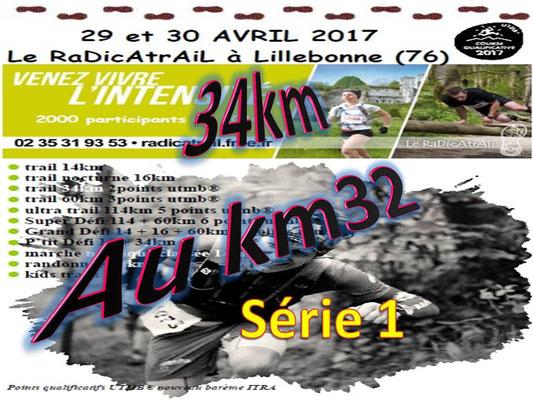 Radicatrail - Le 34km au km32 série 1 (Tancarville - dép76 - Dim30/04/2017)