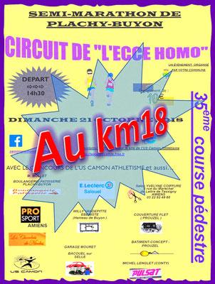 Ecce Homo - Au km18 (Plachy-Buyon - dép80 - 21km - Dim21/10/2018)