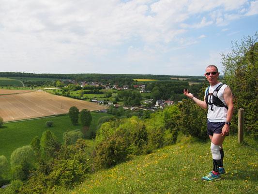 Sortie reco au départ de Le Quesne avec Martin (dép80 - 22km - Mer13/05/2015)