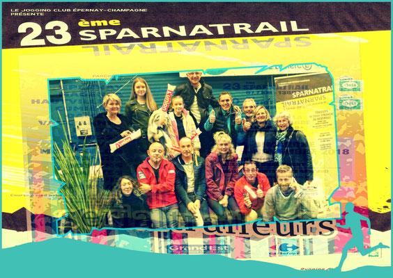 Sparnatrail 2018 (Epernay - dép51 - 15/32/58km - Dim11/11/2018)