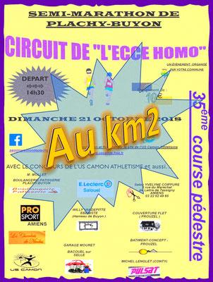 Ecce Homo - Au km2 (Plachy-Buyon - dép80 - 21km - Dim21/10/2018)