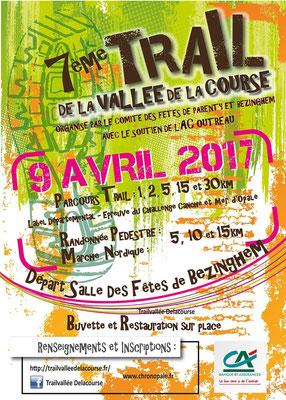 Trail de la Vallée de la Course (Bezinghem - dép62 - 15/30km - Dim09/04/2017)