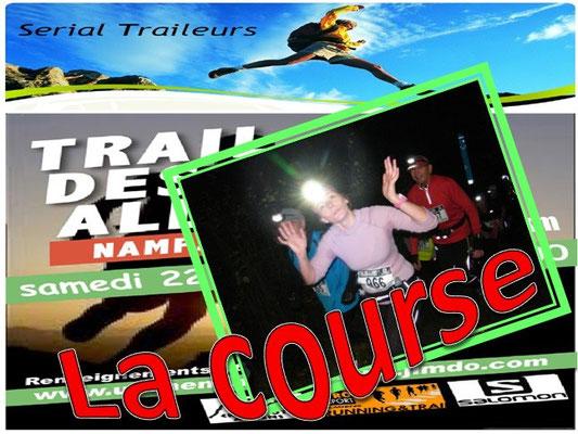 Trail des Allumés 2014 - La course (Namps au Val - dép80 - 15km - Sam22/11/2014)
