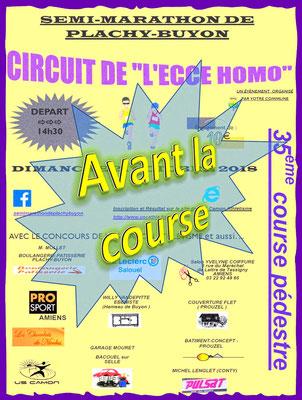 Ecce Homo - Avant la course (Plachy-Buyon - dép80 - 21km - Dim21/10/2018)