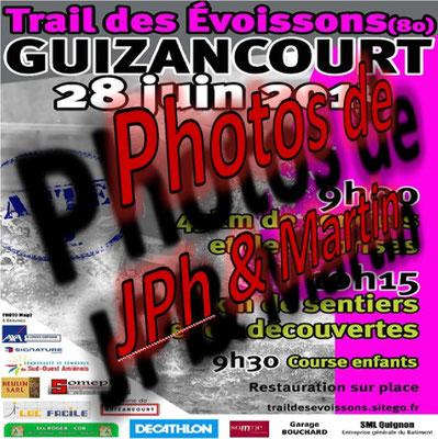 Trail des Evoissons 2015 - Photos de JPh & Martin (Guizancourt - dép80 - 18/45km - Dim28/06/2015)