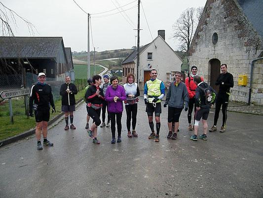 Sortie à Gouy les Groseillers avec JPh (dép60 - 13/15/18/22km - Sam04/04/2015)