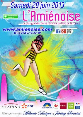L'Amiénoise - 5 et 10km Femmes (Amiens - dép80 - Sam29/06/2013)